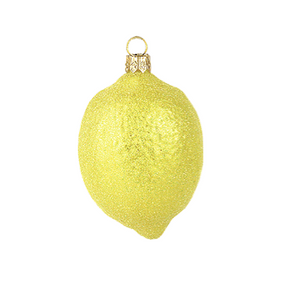 Citron julepynt / Lemon christmas ornament