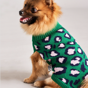 Dog Jumper - Leopard