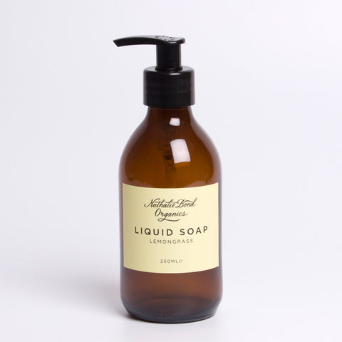 Nathalie Bond Organics Liquid Soap - Lemongrass