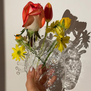 Seletti Love in The Bloom Vase - Clear