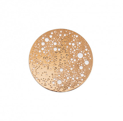 Lunar Brooch - Small Rose Gold