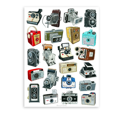 Magma Camera Print by Christine Berrie