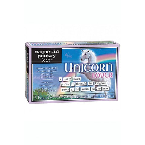 Magnetic Poetry Kit - Unicorn Lover