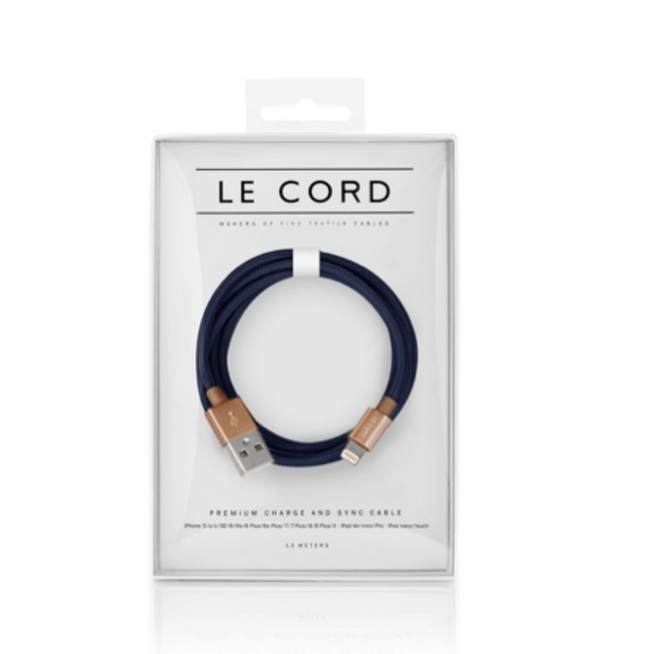 Le Cord Charge & Sync Cable -  Masterpiece 1,2m