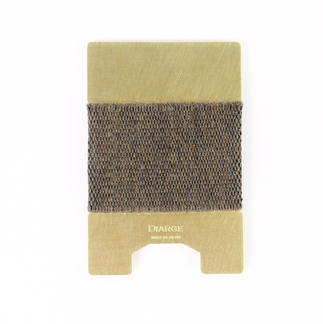 Diarge Japan Brass Plate Card Holder