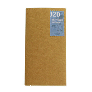 Traveler's Company Traveler's Notebook Refill 020 kraft file