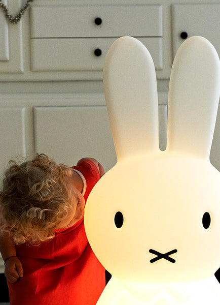 Mr. Maria Miffy kaninlampe / rabbit lamp -  With remote control