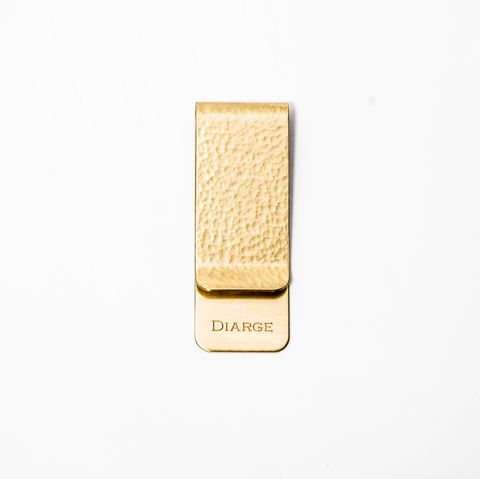 Diarge Japan Brass Moneyclip