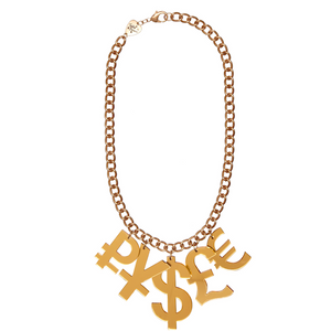 Tatty Devine Money Necklace