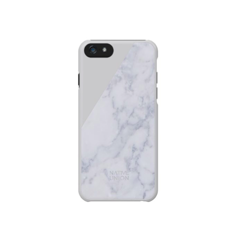 Native Union Luxury Tech Clic REAL  Marble iPhone 6 case