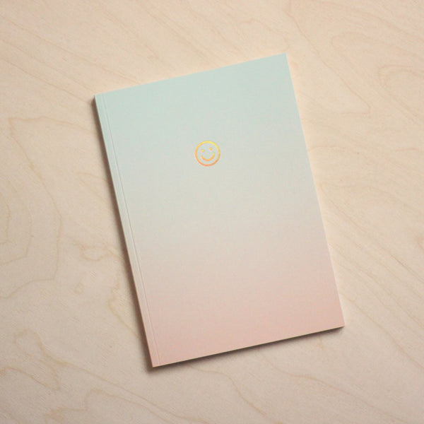 Navucko Gradient Smiley Notebook