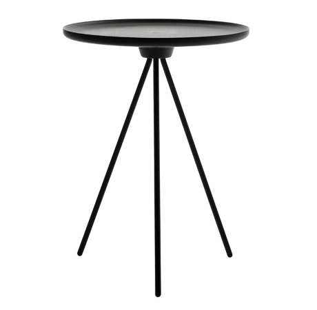 HEM Key Side Table - Sort / Black