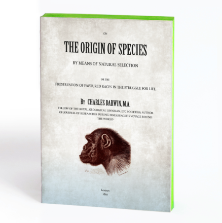 Slow Design Libri Muti - The Origin of Species