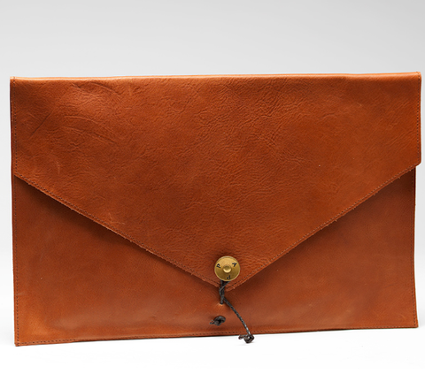 P.A.P. Made in Sweden KUNGSSTEN Mac Book laptop cover  læder / leather