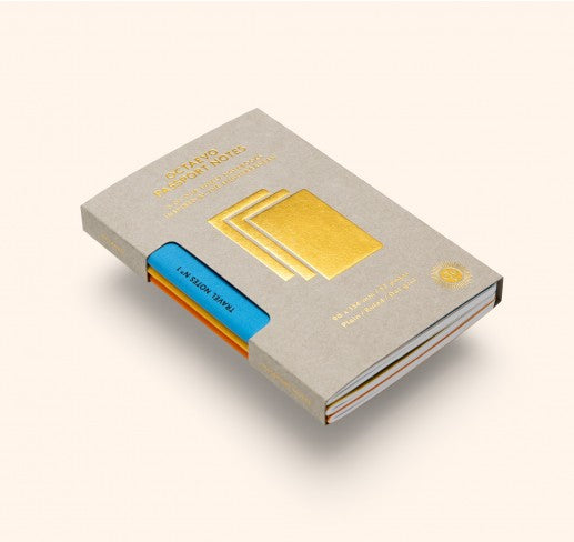 OCTAEVO Travel Notes Gold Pack
