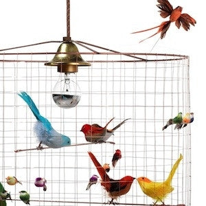 challieres bird cage voliere lampe med fugle areastore.dk