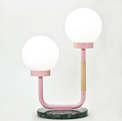 Swedish Ninja Little Darling Lamp - Pink