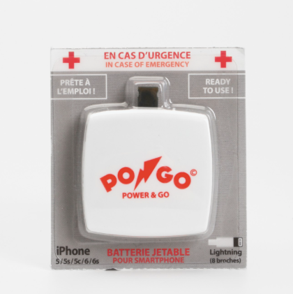 PONGO Emergency battery!