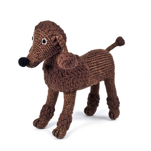 "Anne Claire Petit Brun Pudel ""Bruno"" / Brown Poodle ""Bruno"" - coming soon!"