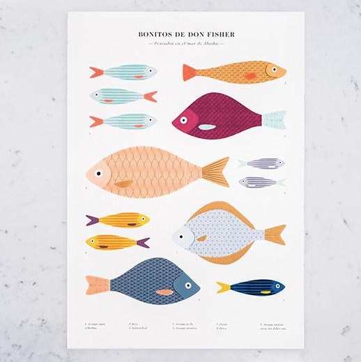 Don Fisher A2 Fish Print