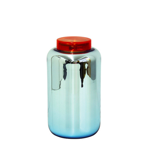 Glass Container High Blue/red - Sebastian Herkner