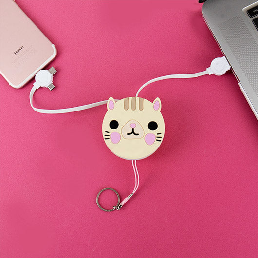 Cat Power Pet - retractable charging cable