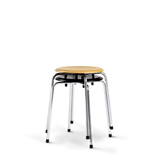 Please Wait To Be Seated: Egon Eiermann S38 S/1 Stool - Black