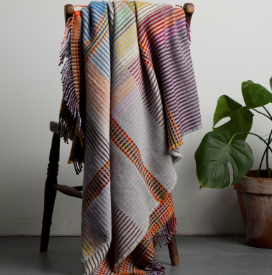 Wallace Sewell Pinstripe Scott Throw