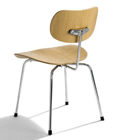 Please Wait To Be Seated: Egon Eiermann SE68 Multipurpose Chair - Oak