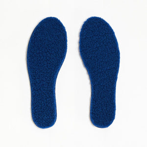 TOASTIES Paris Sheepskin Insoles / Såler - Blue Size 41-46