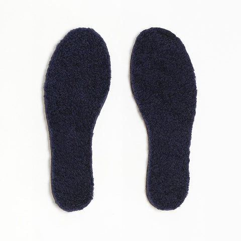 TOASTIES Paris Sheepskin Insoles / Såler - Black Size 41-46