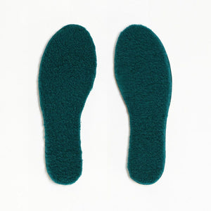 TOASTIES Paris Sheepskin Insoles / Såler - Green Size 41-46