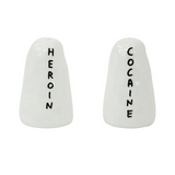 David Shrigley Cocaine & Heroin Shakers