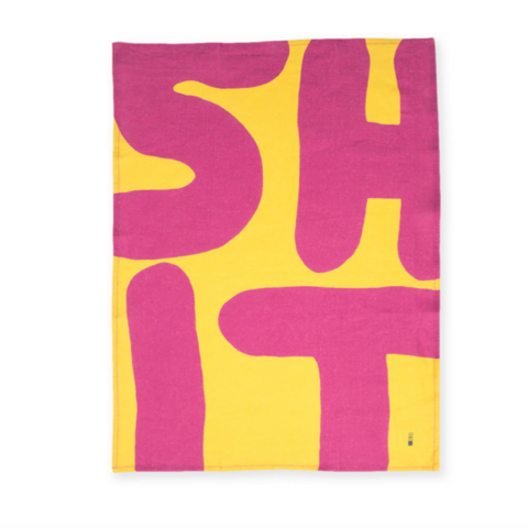 David Shrigley SHIT Dish Towel