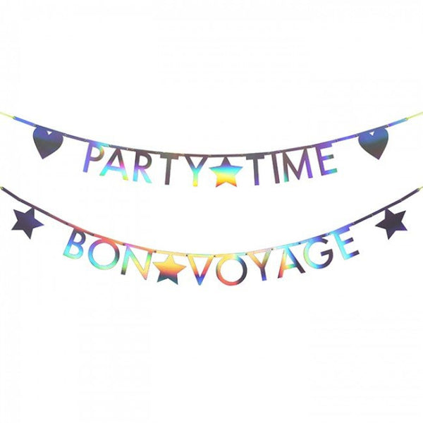 Holographic Letter Garland