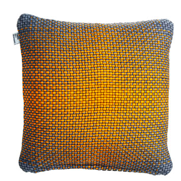 Simon Key Bertman Gradient Cushion - orange
