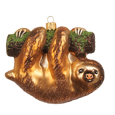 Dovendyr julepynt / Sloth christmas ornament