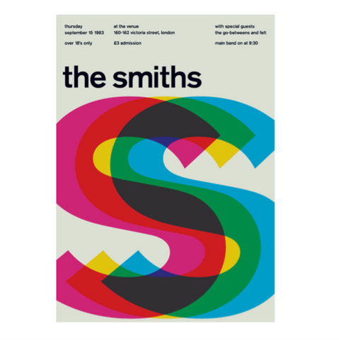 The Smiths Print/pt udsolgt, sold out