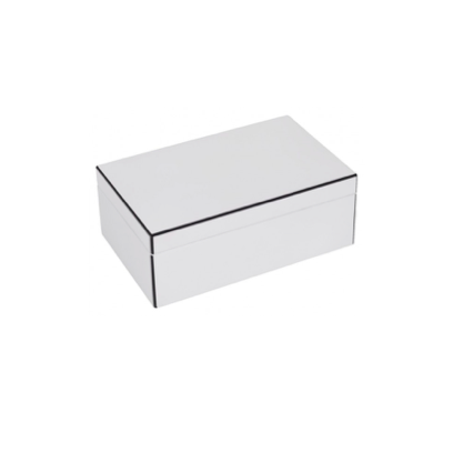 Højglans smykkeskrin lille / High Gloss Jewellery Box Small