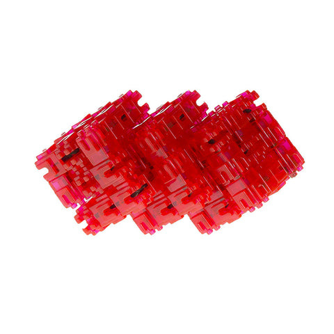 Snaak 3D Puzzle - Red