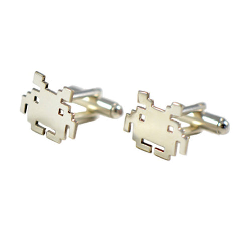 Space Invaders manchetknapper / cufflinks