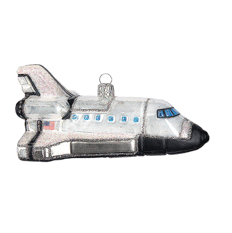 Rumskib julepynt / Space shuttle ornament