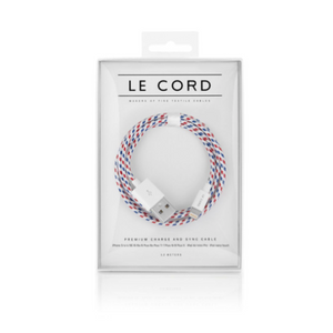 Le Cord Charge & Sync Cable -  Spiral