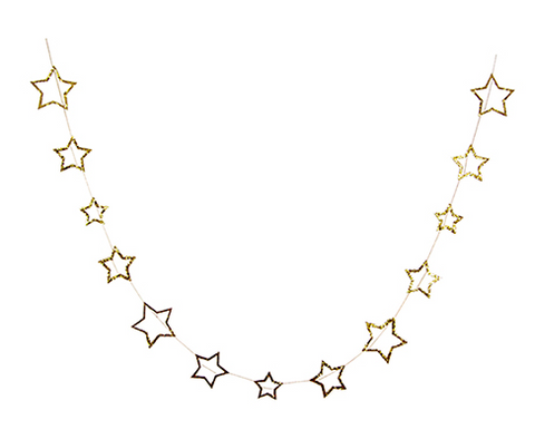 Starry Guirlande / Starry Garland - Gold - coming soon!