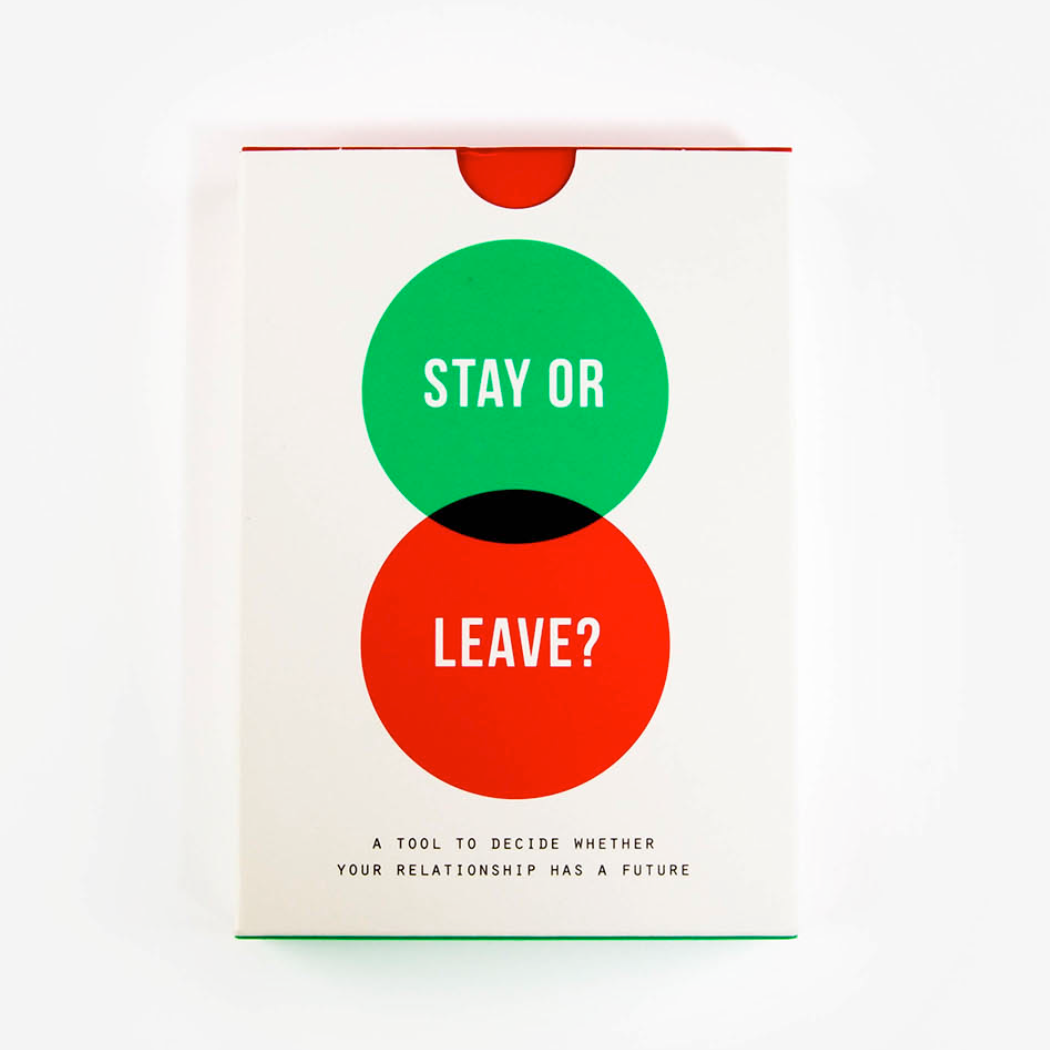 The School Of Life - Stay or Leave? Card Game