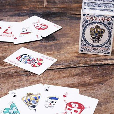 Kikkerland Tattoo Playing Cards