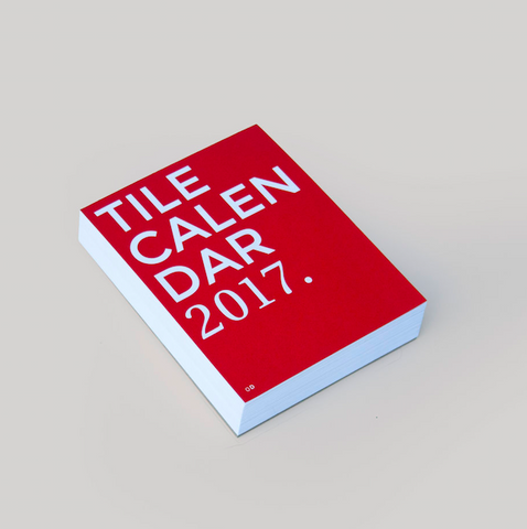 Octagon Design Tile Calender 2017