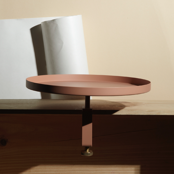 NAVET Sthlm Clamp Tray - Large Dusty Pink