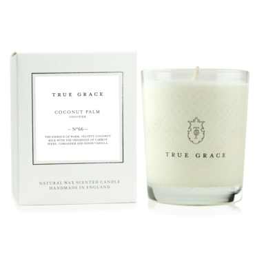 True Grace duftlys - Coconut Palm