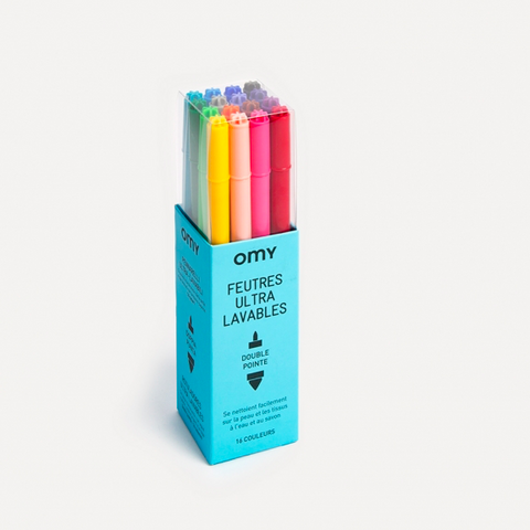 OMY felt pens Ultrawashable- udsolgt/sold out